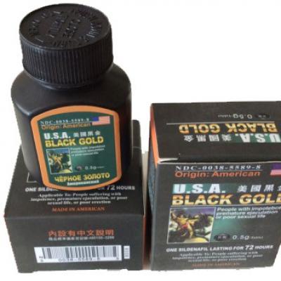 Thuốc Cường Dương Black Gold USA