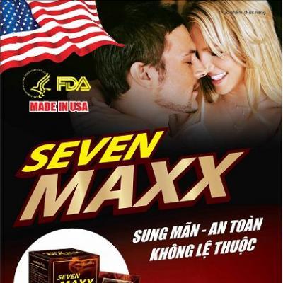 Thuốc Cường Dương Thảo Dược Seven Maxx USA